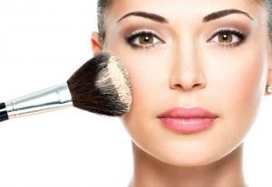 Big makeup brush