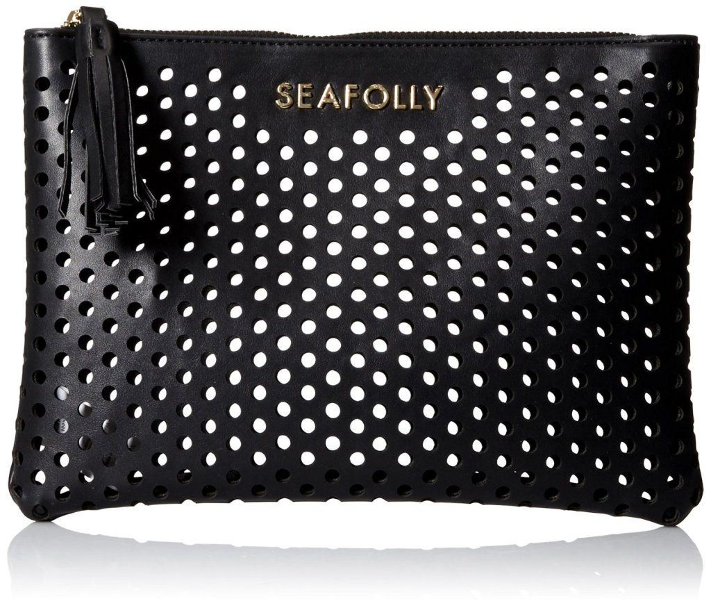 Seafolly Women's Carried Away Double Dot Clutch Bag
