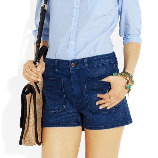 Denim shorts summer