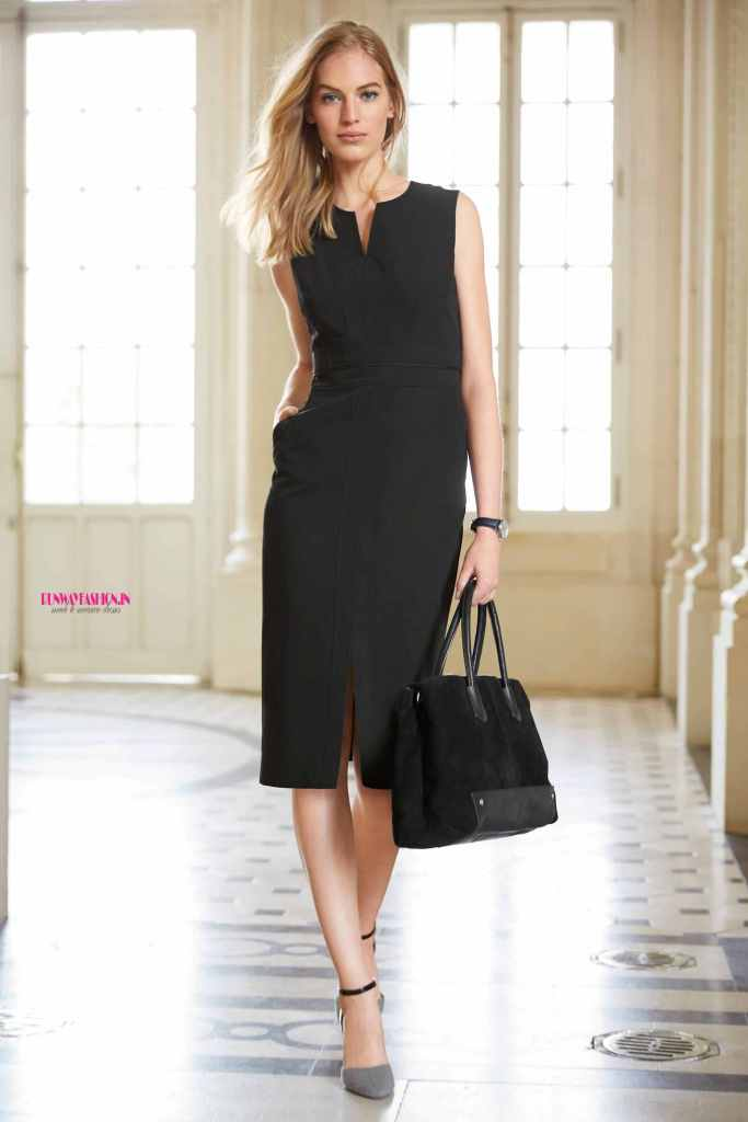 Black Pencil Office Dress