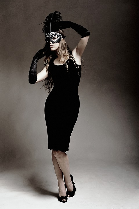 a little black dress