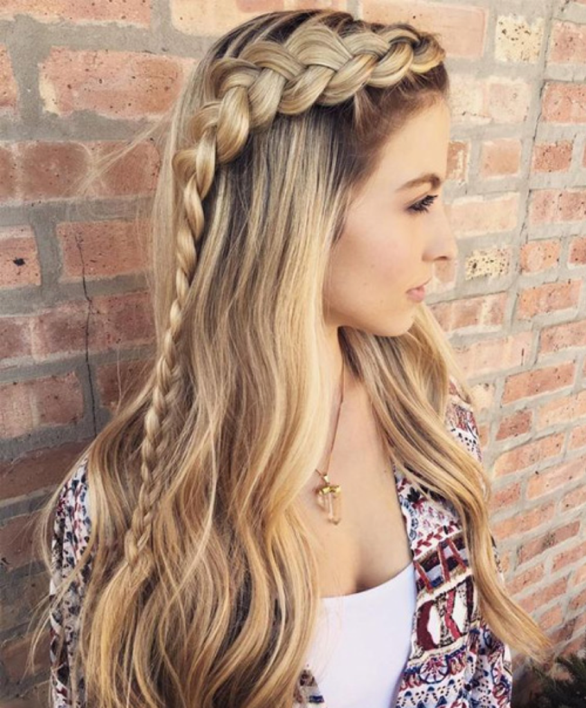 Blonde Bomb Hairstyle