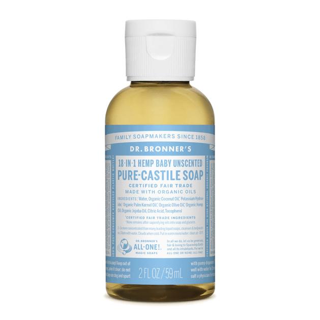 Castile Soap bottle