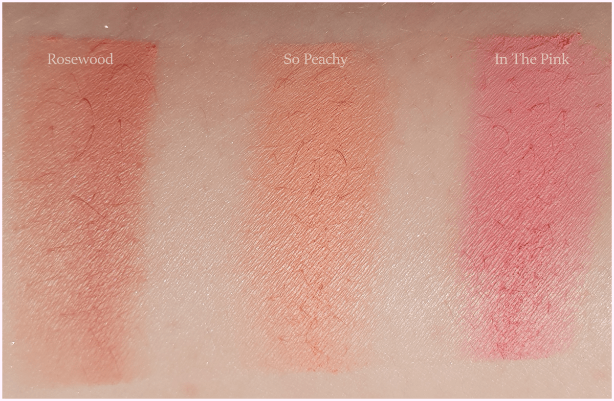 Penneys Primark PS... Blush - In The Pink, Rosewood, So Peachy