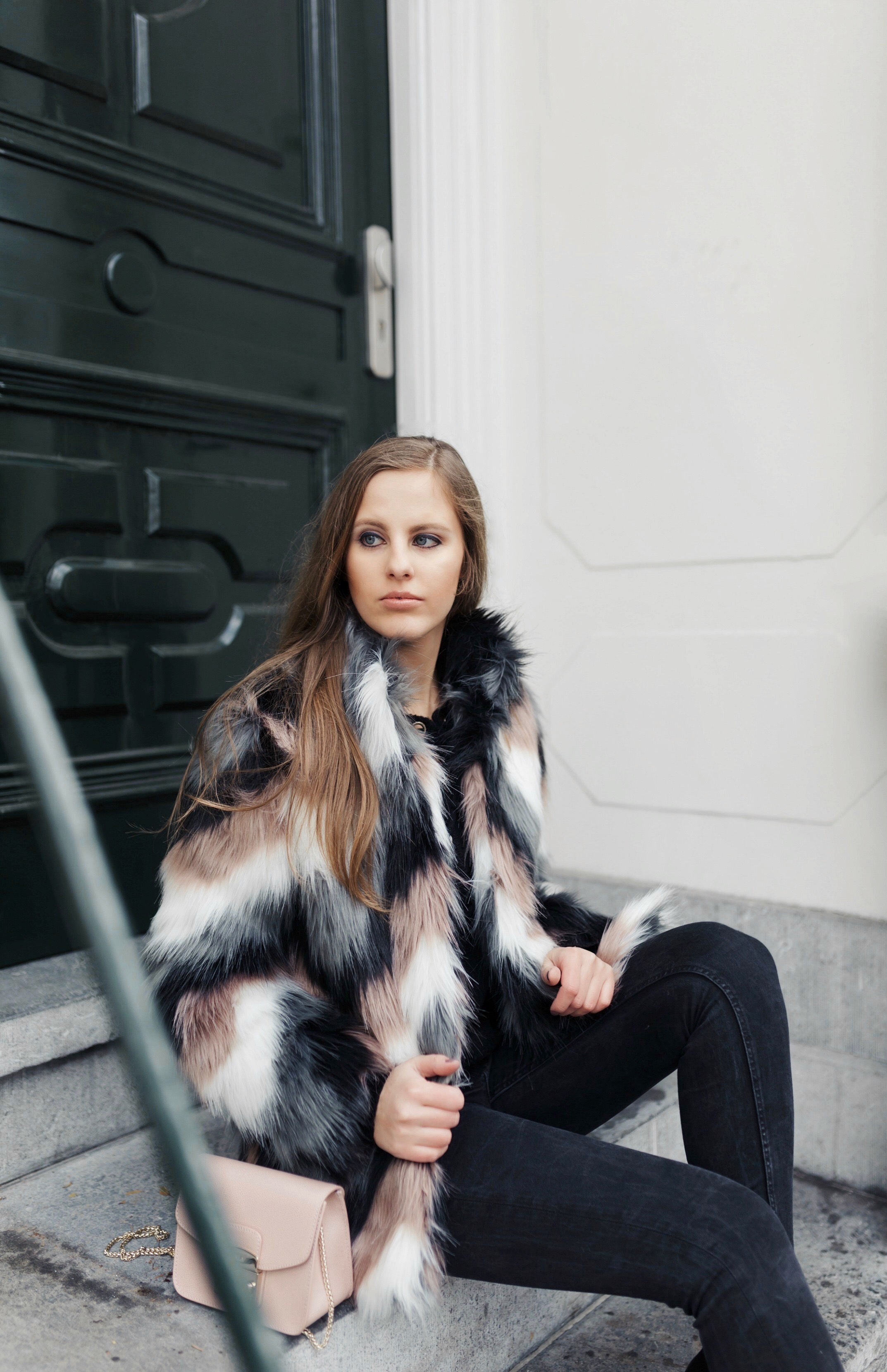 Furry Jacket - The Beauty Issue
