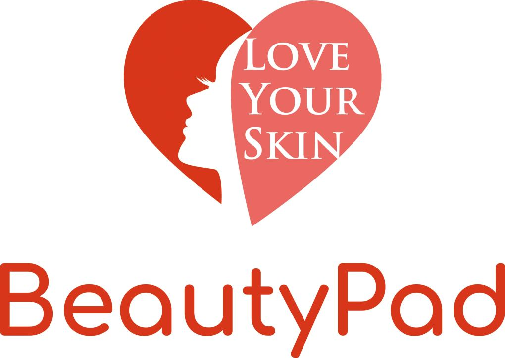Logo BeautyPad Love Your Skin RGB