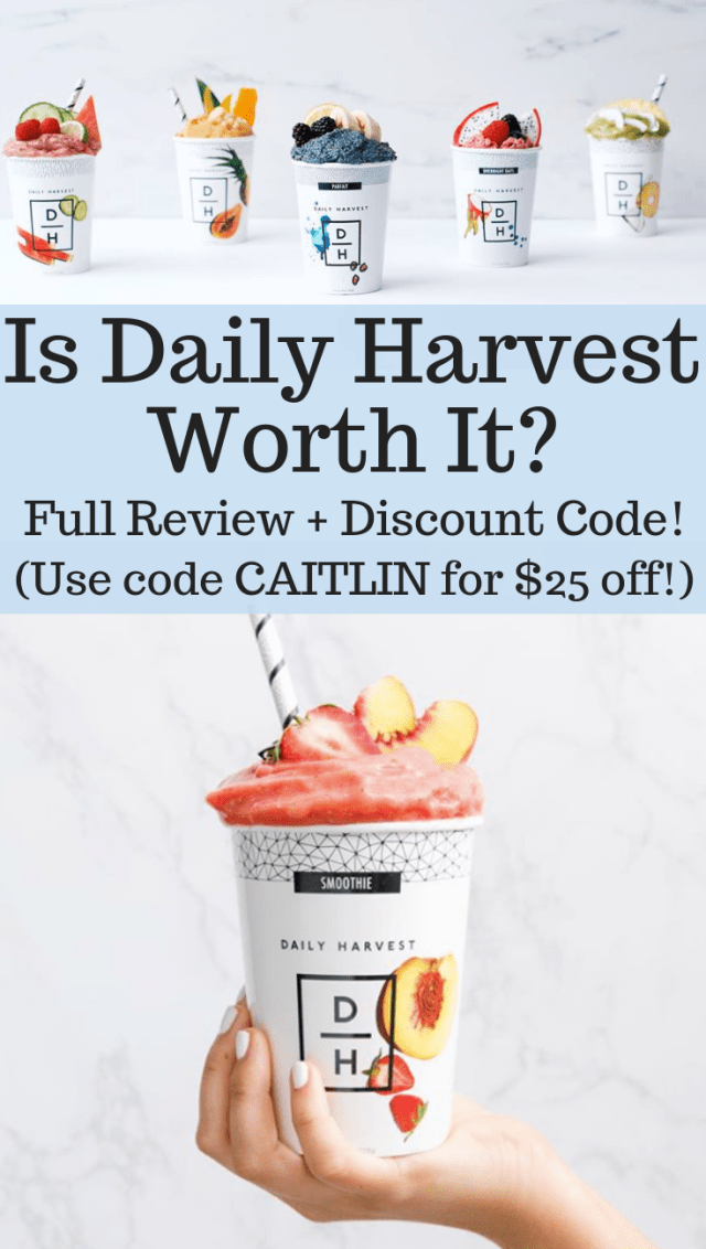 Daily Harvest Review promo code coupon discount