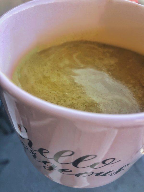 golden milk turmeric latte dairy free recipe