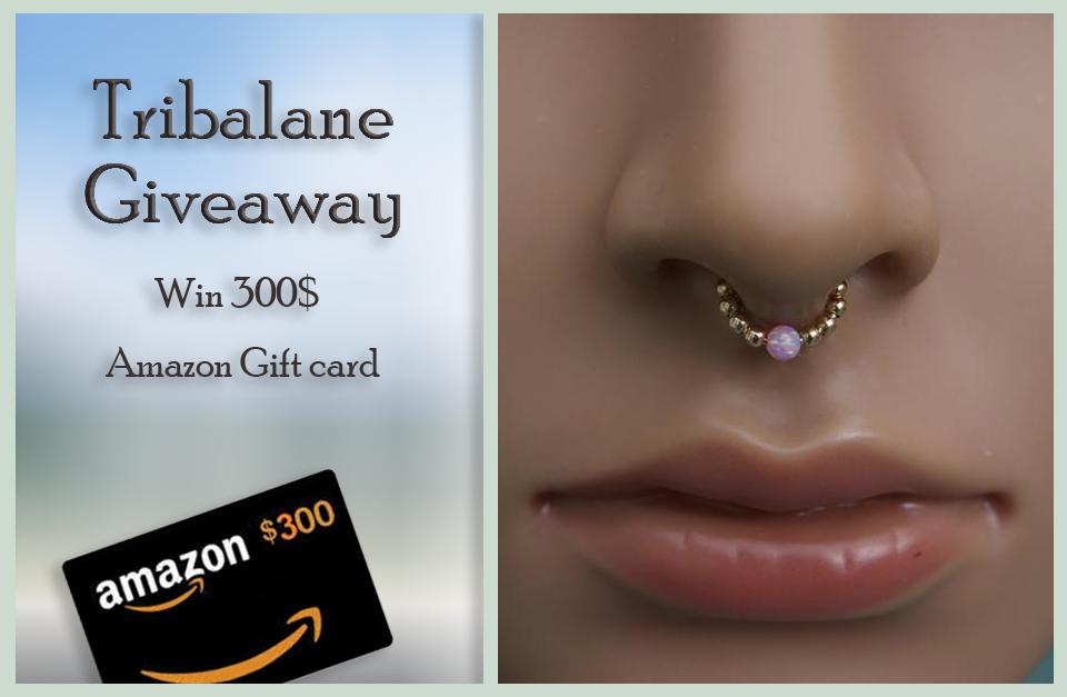 Tribalane $300 Amazon Gift Card Sweepstakes