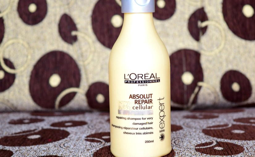 Loreal Professionnel Absolut Repair Cellular Shampoo Review