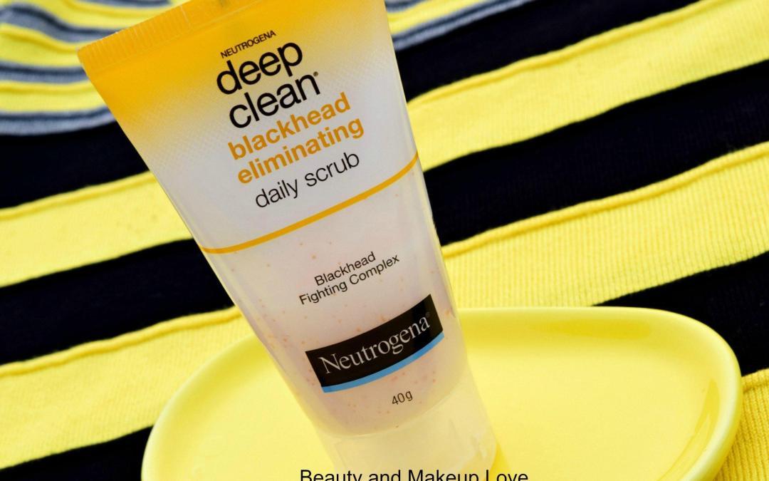 Neutrogena Deep Clean Blackhead Eliminating Daily Scrub Review