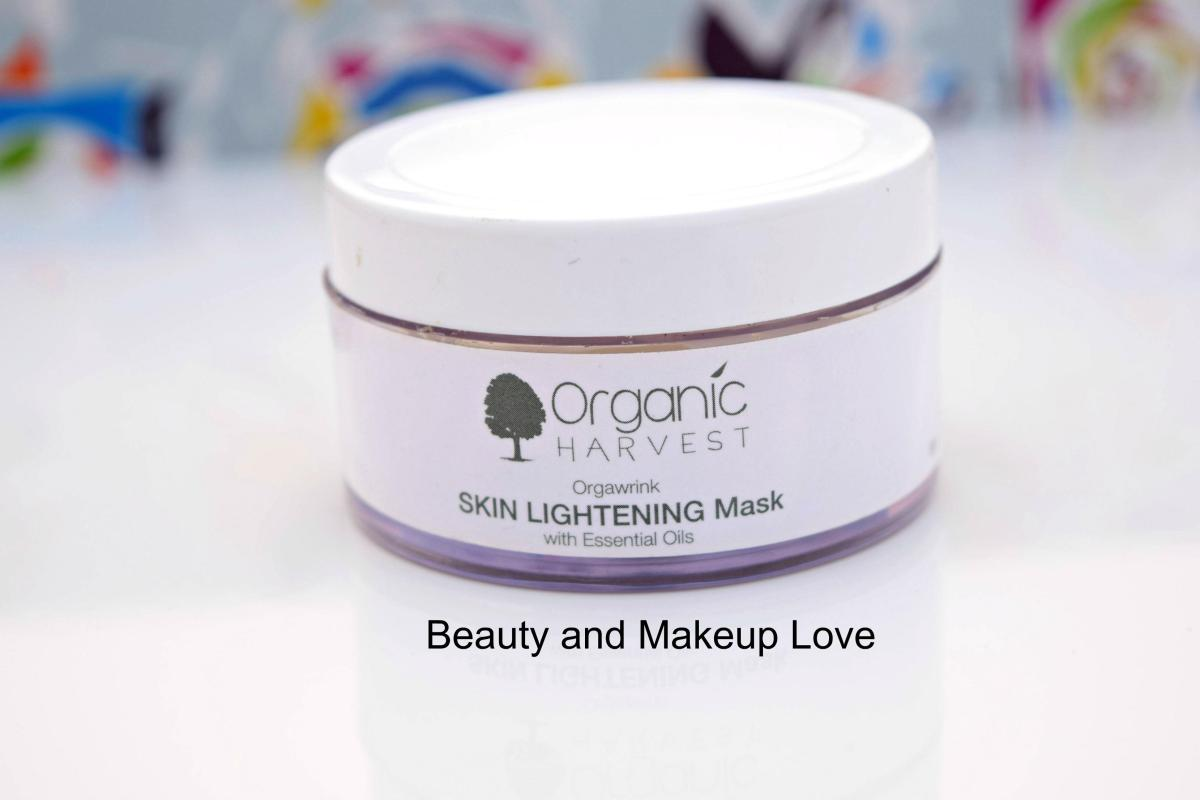Organic Harvest Skin Lightening Mask Review