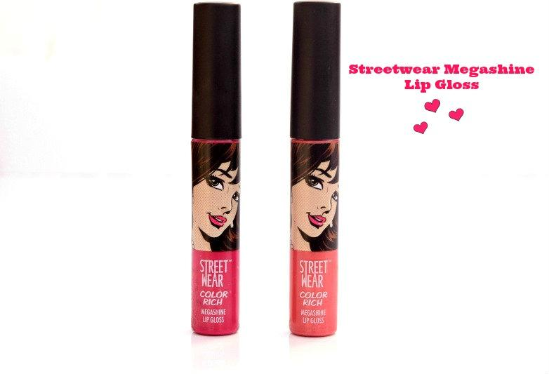 Streetwear Megashine Lip Gloss- Party Melon, Smitten by Pink