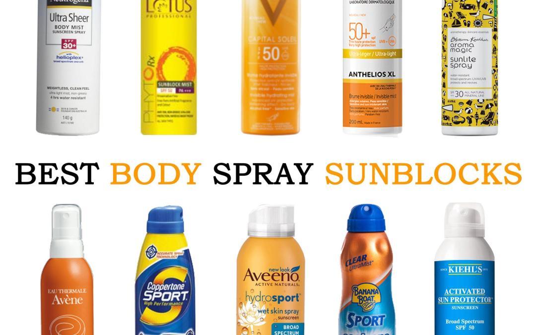 Best Body Spray Sunblocks in India: The Waterproof Edit!