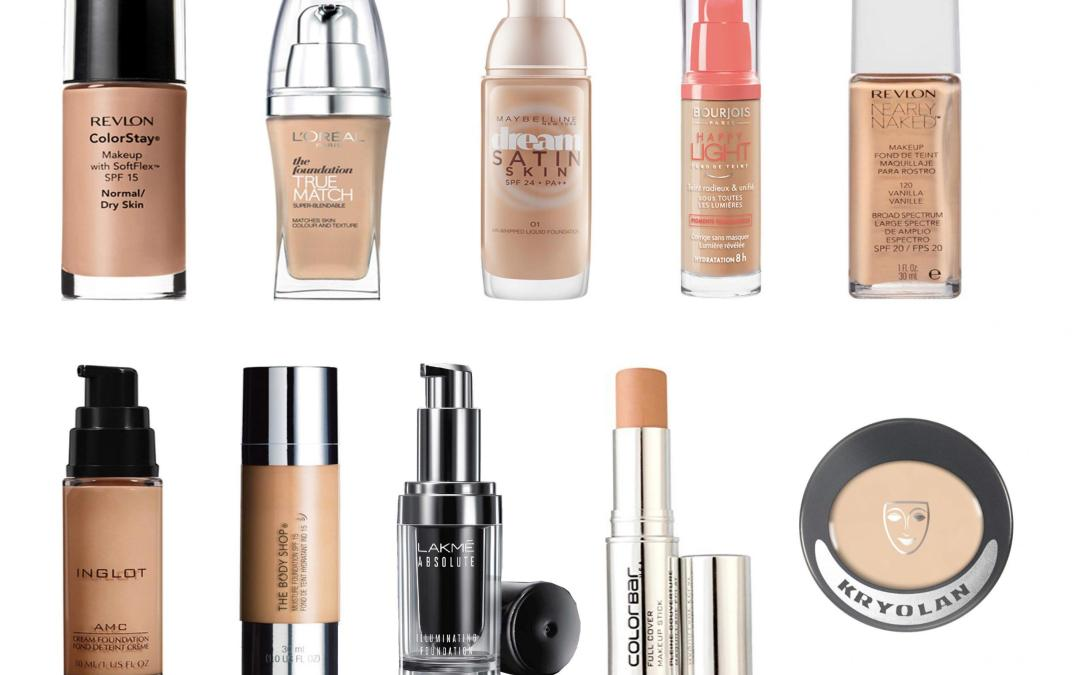 Best Drugstore Foundations for Dry Skin in India!