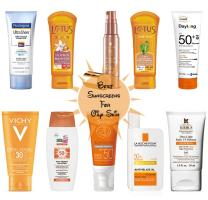 Best Sunscreens for Oily Skin in India
