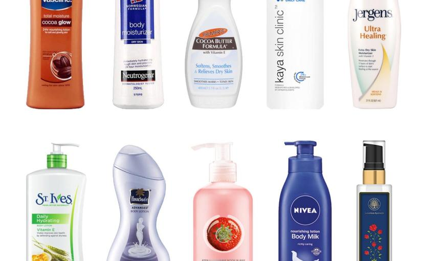 Best Body Lotions for Dry Skin in Winters
