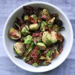 Air Fried Brussel Sprouts