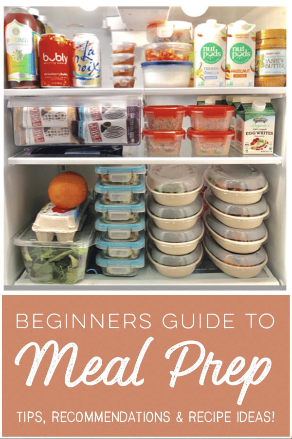 Meal prep tips and tricks for beginners. From ways to save money and recipe ideas to a sample 2 hour prep, this guide will have you covered for a quick and easy meal prep! #mealprep #easymealprep #whole30mealprep