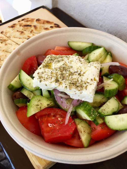 Pitogyros Greek Salad Santorini