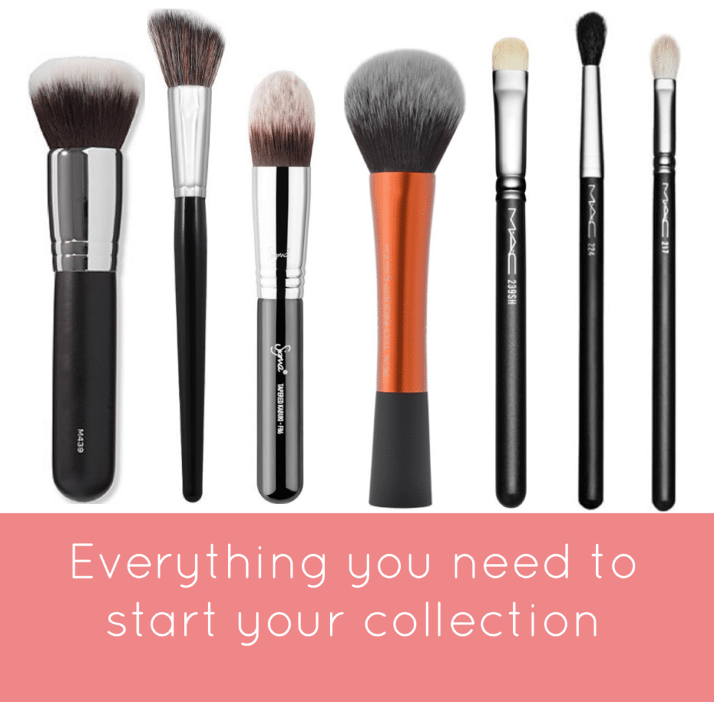 must have makeup brushes for beginners beauty and the bench press rh beautyandthebenchpress com Step by Step for Beginners Makeup Eye Makeup Tutorials for Beginners