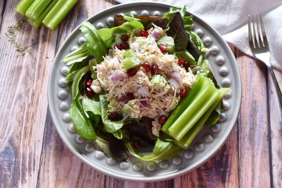 super simple chicken salad