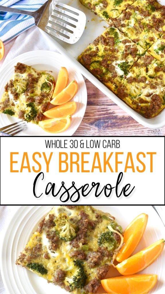 A Whole30 Compliant Casserole that serves as a quick and easy meal prep option! #whole30
