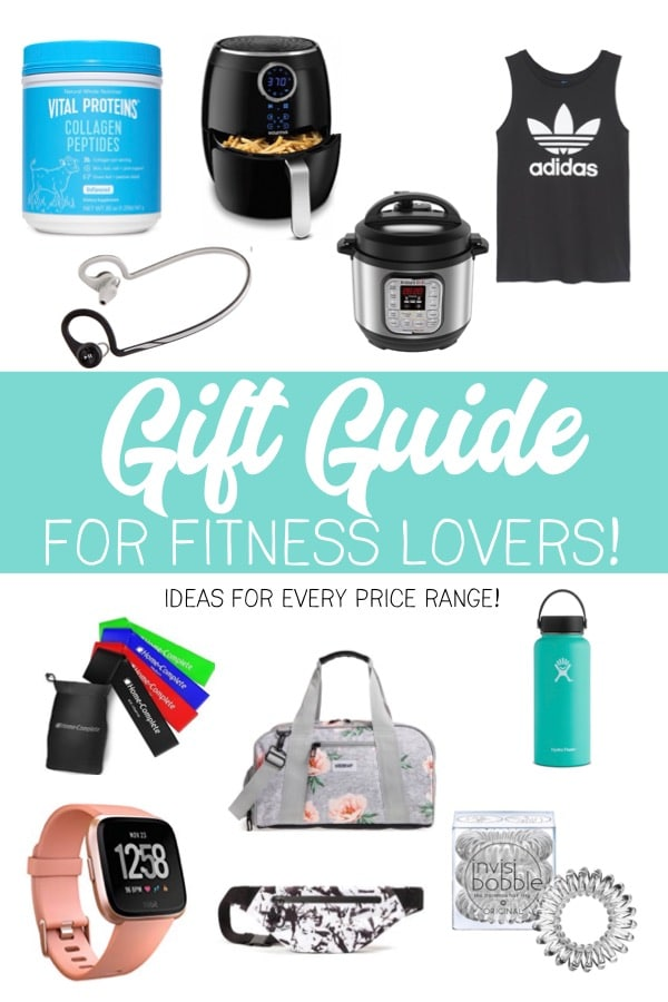 Perfect gift recommendations for the fitness lover in your life! These are all things I currently use and love as a part of my active and healthy lifestyle. With options for every price range, this holiday gift guide can work for any budget!