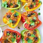 Mexican Stuffed Peppers: Paleo, Whole30, Keto