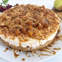 Pear Crumble Cheesecake Recipe