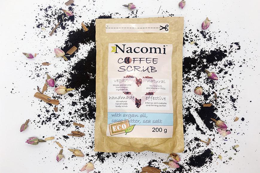 Scrub corpo a base di caffè? Alla scoperta di Nacomi 🌿🌿🌿
