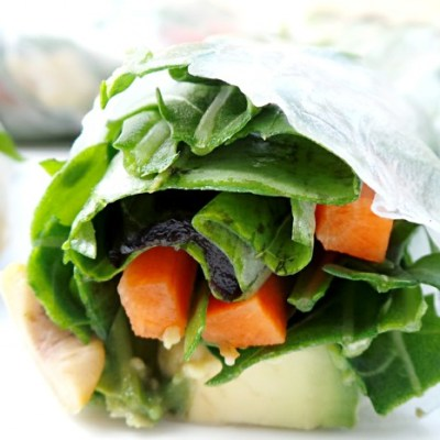 Alkaline Rice Paper Rolls Recipe for Beautiful Skin