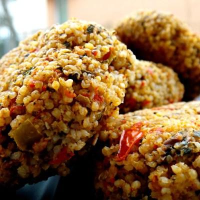 Vegetarian Millet Bites