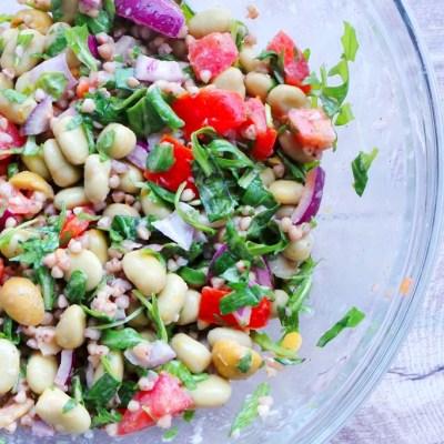 Healthy buckwheat and beans salad + Yummly
