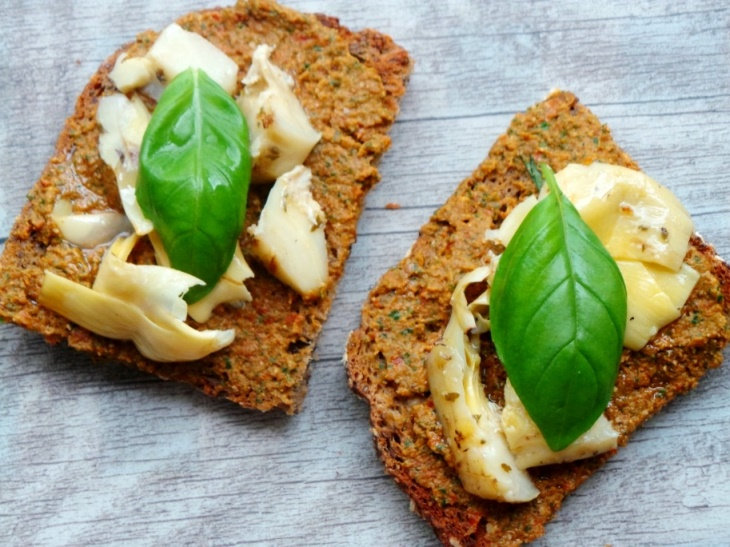 Pesto toast - Beauty Bites