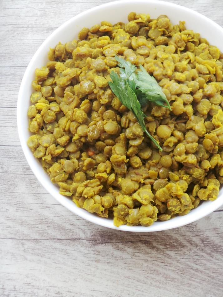 Spicy turmeric lentils - Beauty Bites