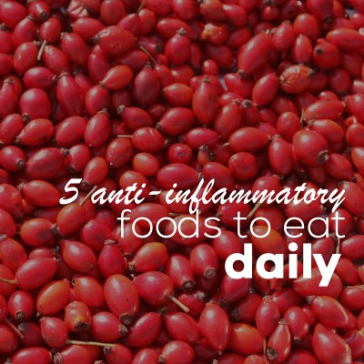 5 Anti-Inflammatory Foods To Eat Daily