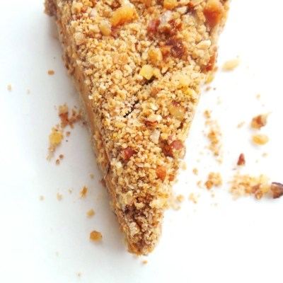 Butternut Squash Crumble Pie (Vegan and Super Creamy)
