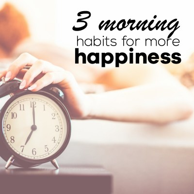 3 Morning Habits For Better Mood, Even If You're Not a Morning Person