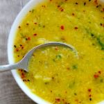 Broccoli and Red Lentil Detox Soup
