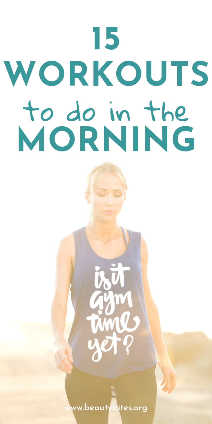 The best 10-minute morning workouts to do at home or anywhere else! These quick workouts include toning exercises, full-body workouts, cardio for beginners, yoga routines and more! Start your day with these energizing exercise routines to have more happy days!