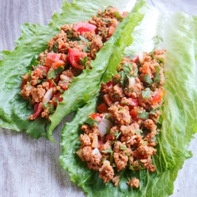 Healthy Lettuce Tacos – Vegan, Gluten-free and Paleo