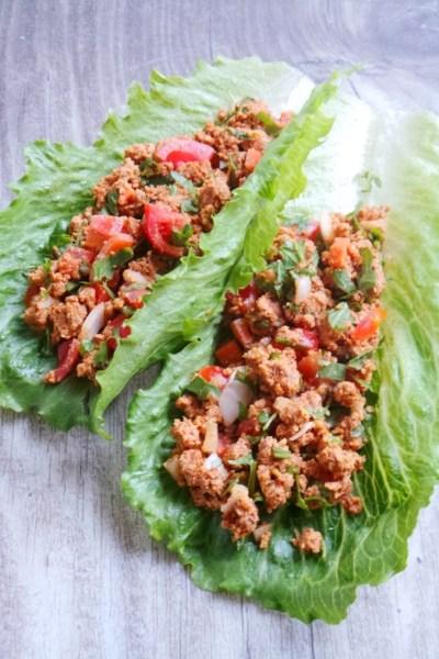 Healthy Lettuce Tacos – Vegan, Gluten-free and Paleo