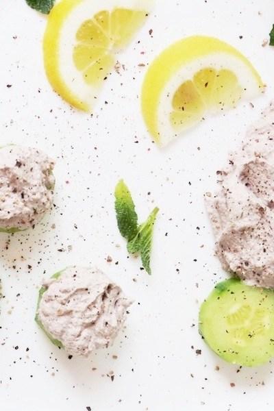 Vegan and Paleo Herby Cream Cheese Dip