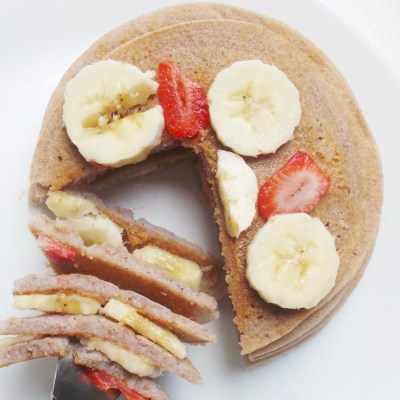 Easy Buckwheat Pancakes – 5 Ingredients, Vegan and Gluten-Free