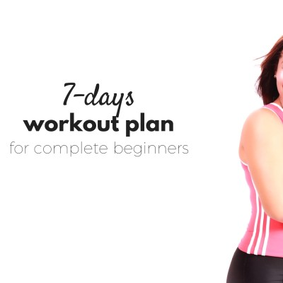 7-Day At Home Workout Plan For Complete Beginners