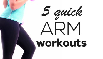 Beginner Arm Workout For Women To Lose Arm Fat