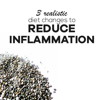 3 Steps To An Anti-Inflammatory Diet