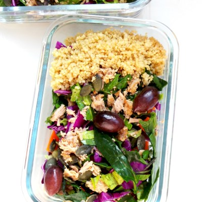 Healthy Tuna Salad with Meal Prep Option – High-Protein Salad Recipe