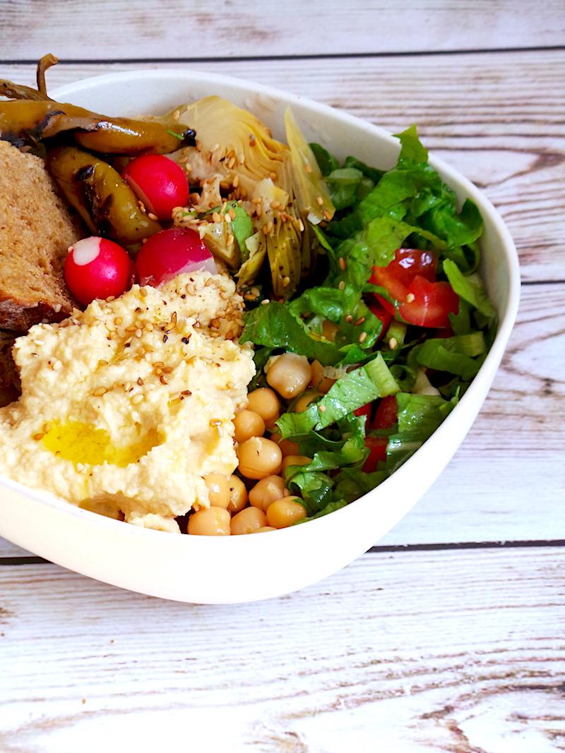 Easy Healthy Lunch Bowl - Vegan, Meal Prep Option
